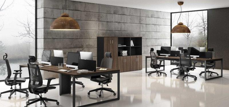 Mesa para Escritório - Plataforma 25mm noga Avantti