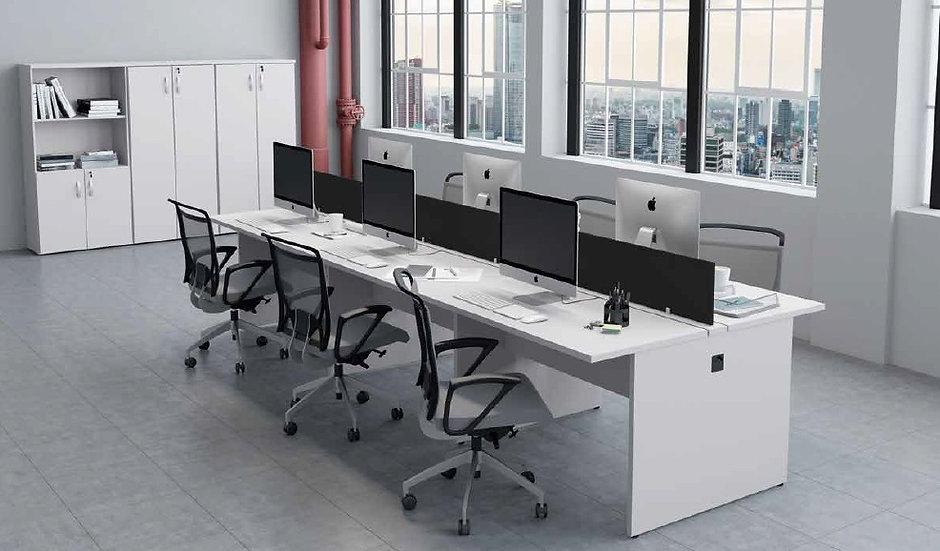 Mesa para Escritório - Plataforma 25mm cinza Maranello
