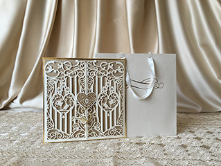 Perfection of Pearl Paper and Laser Cut