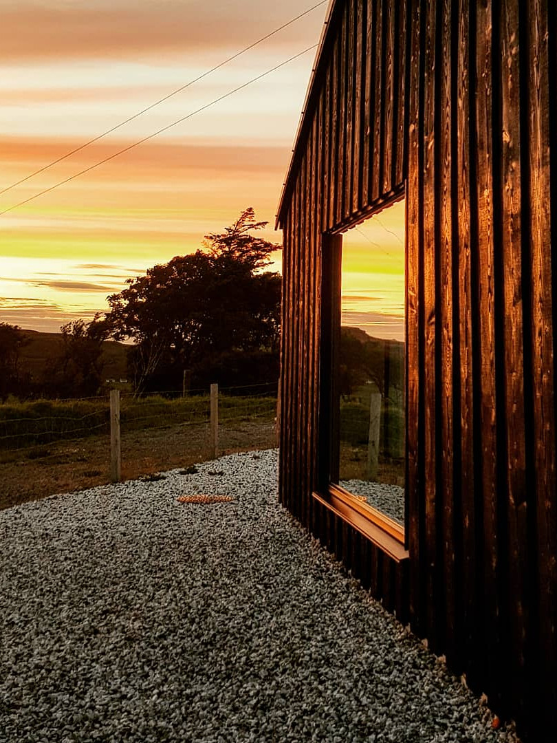 The bothy at Sunset
