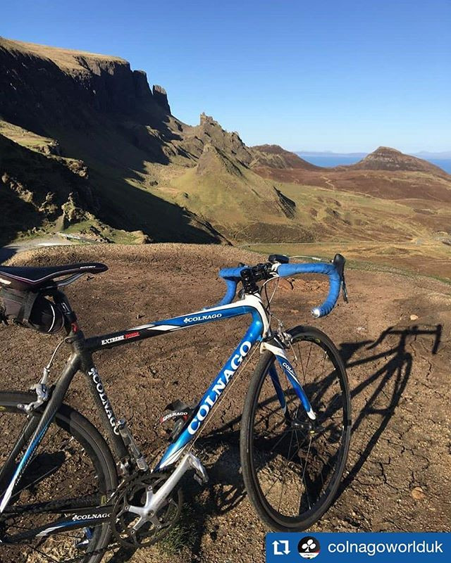 Steve often bikes to The Quiraing