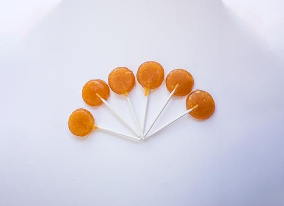 Paletas de miel y propóleo