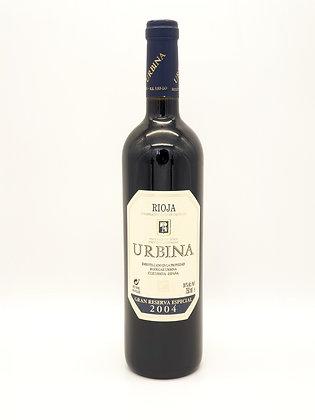 Urbina Gran Reserva 2004, Tempranillo, DOC Rioja, Spanje