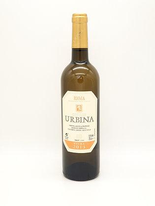 Urbina Viura Crianza 2013 (houtgelagerd), DOC Rioja Spanje