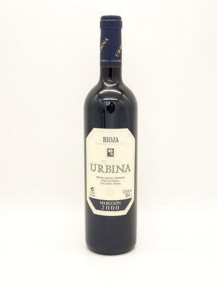 Urbina Reserva Selection 2000, Tempranillo, Rioja, Spanje
