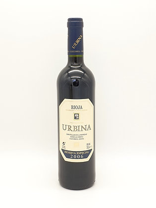 Urbina Reserva Especial 2006, Tempranillo, Rioja, Spanje