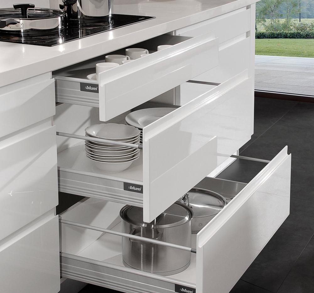 Lacquer White - Base Cabinet