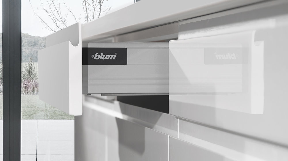 Lacquer White - Drawer