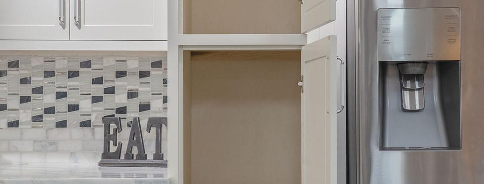 Glacier -  Pantry Cabinet