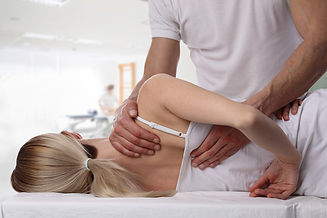 Frozen-shoulder-massage-technique-Stock-