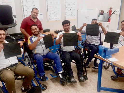 Mobility Aid Production Training in Jordan