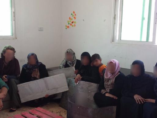Low Tech Humanitarian Upcyling for Refugee Women in Northern Jordan