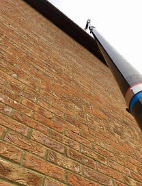 Gutter Cleaning Commercial House Crawley