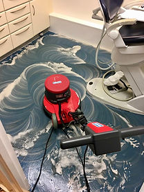 Commercial Dentist Safety Floor Scrub Scrubbing Crawley West Sussx Hosham Horley East Grinstead