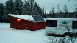 Off-Grid Hunting Lodge