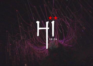 Hannah Laing at Hi Ibiza