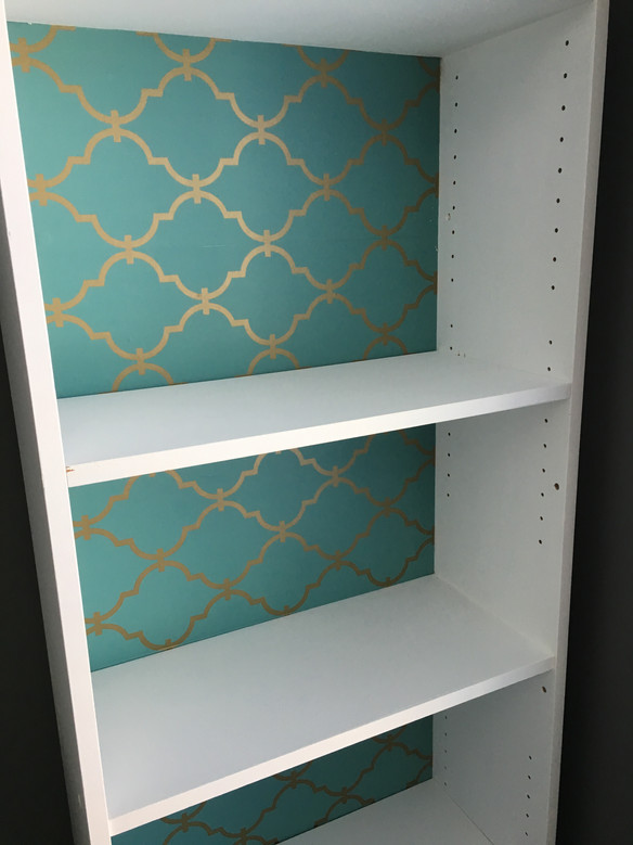 DIY Bookshelf Makeover