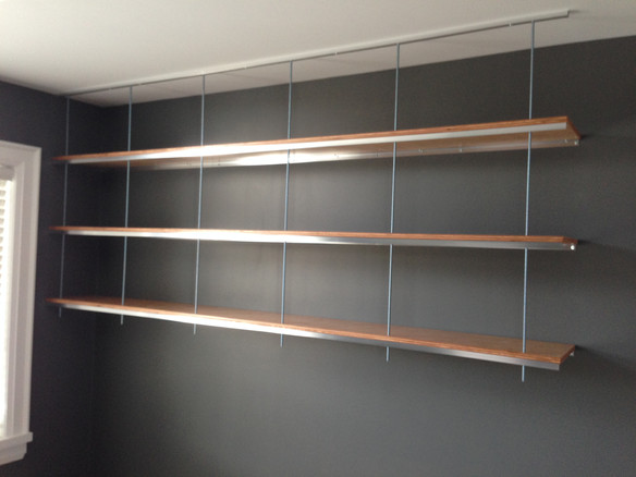 How to build an Industrial Inspired Shelf