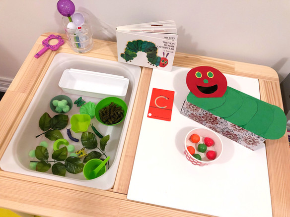 The Very Hungry Caterpillar Activities for Preschoolers