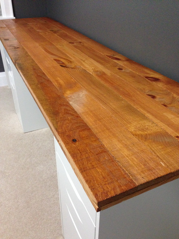 How to build a Modern-Rustic Desk