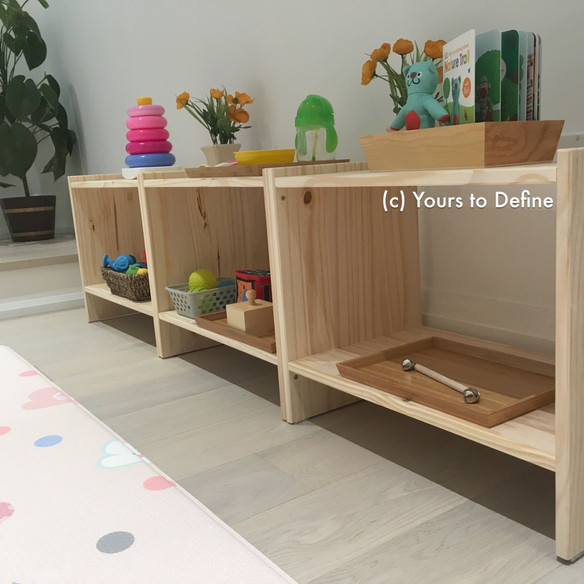 Montessori-Inspired Playspace for Baby