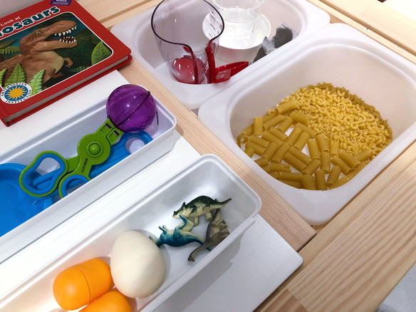 Montessori Dinosaur Activities for Toddlers