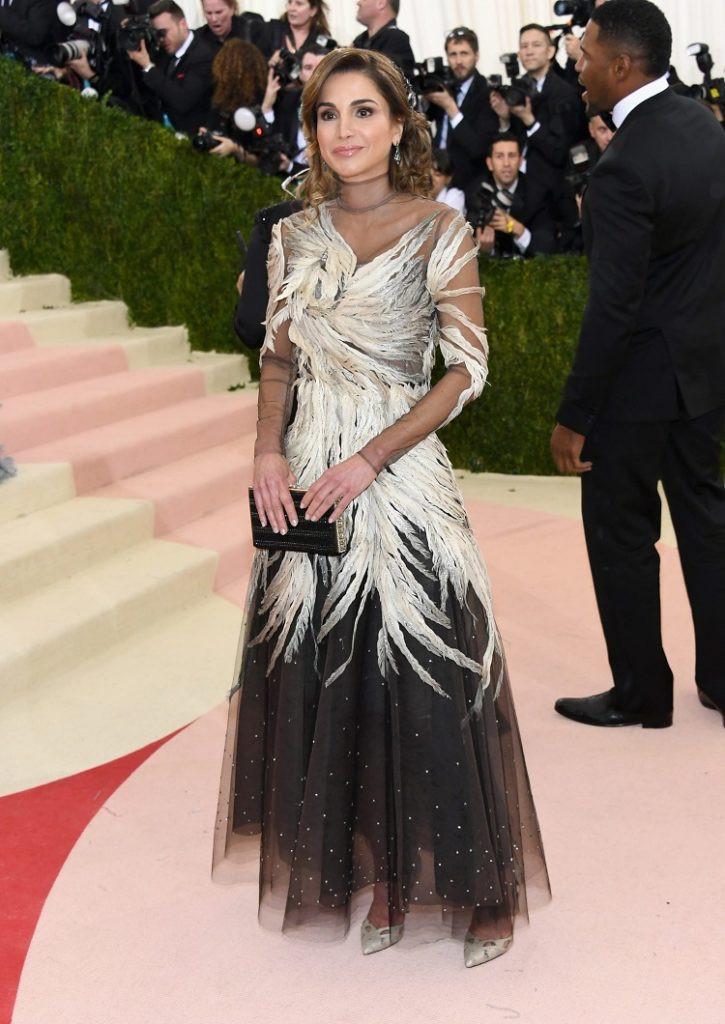 Queen Rania Met Gala