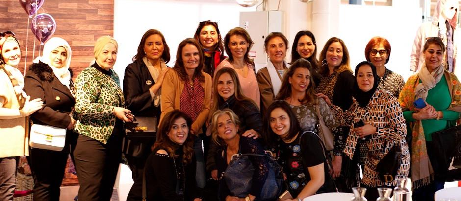 fashion in the city: breakfast at Schustermann & Borenstein إفطار خاص لسيدات المجتمع العربي.