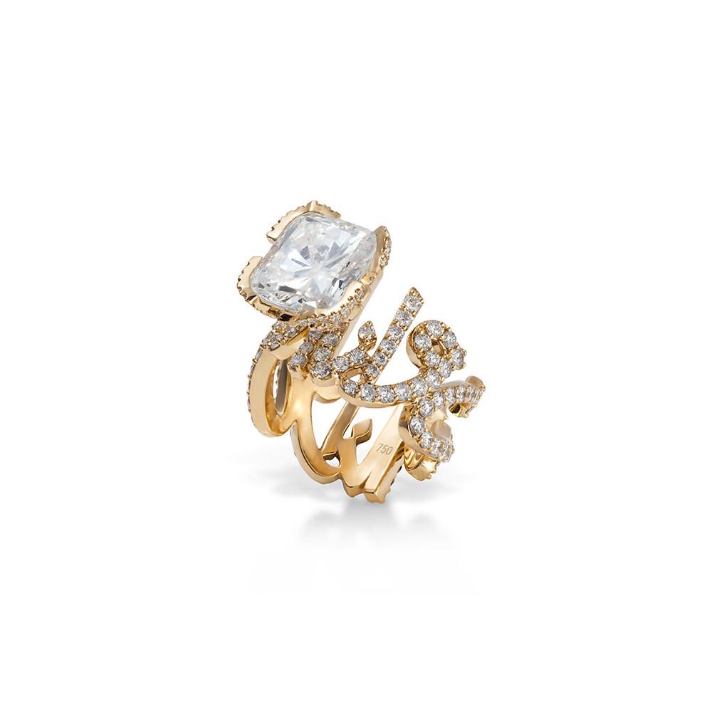 Nadine Kanso wedding ring