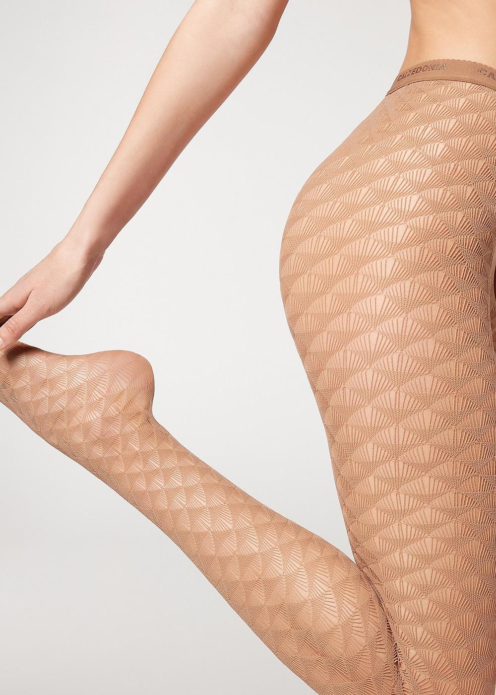 Calzedonia fishnet stockings.