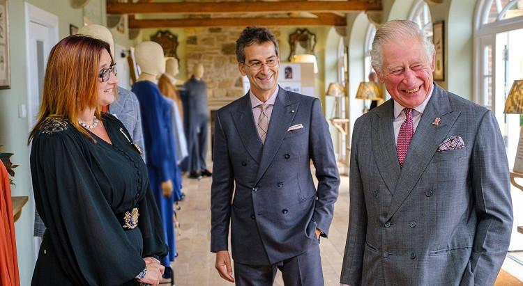 people in the news: when the prince does fashion عندما يصمم الأمير الأزياء