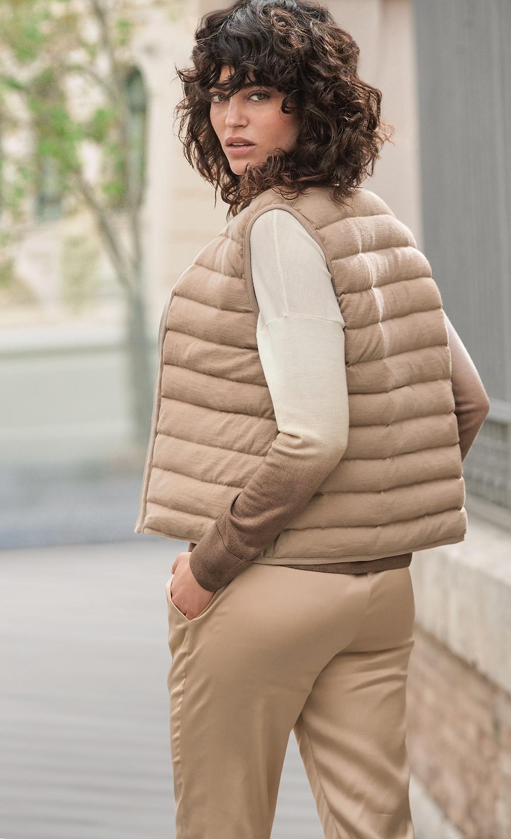 Falconeri cashmere pullovers.