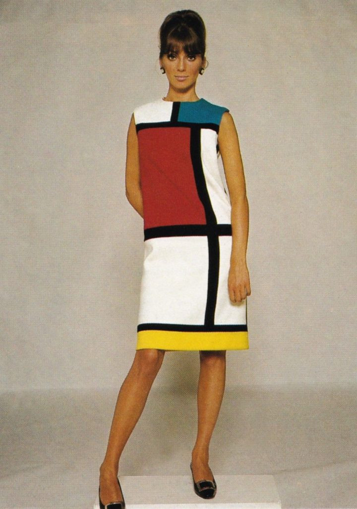 YSL Mondrian dres