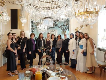 fashion in the city: Pashion Vienna x Lobmeyr brunch.تتمتع السيدات العربيات  Lobmeyr في فيينا  في