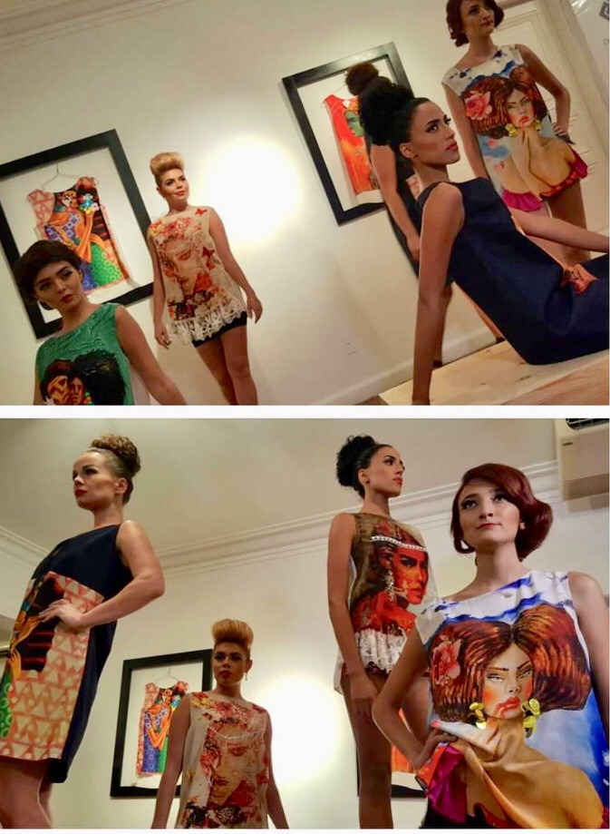 Egyptian fashion designer Dina El Missiry