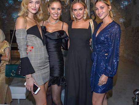 fashion in the city: Stars sparkle at Calzedonia النجوم في كالزيدونيا