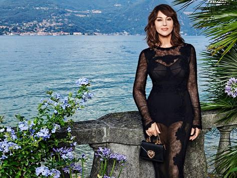 people in the news: monica bellucci is the new face for Dolce & Gabbana مونيكا الجميلة إلى الأبد