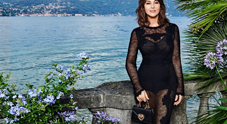people in the news: monica bellucci is the new face for Dolce & Gabbana مونيكا الجميلة إلى الأبد