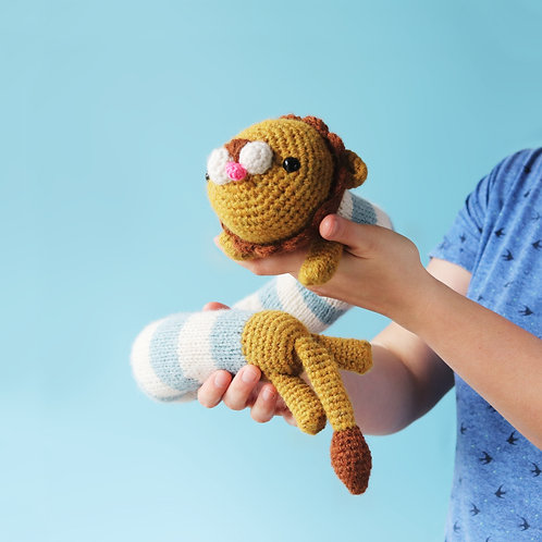 Nicco The Lion - Amigurumi Pattern PDF