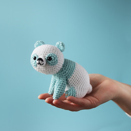 Luna The Panda - Amigurumi Pattern PDF