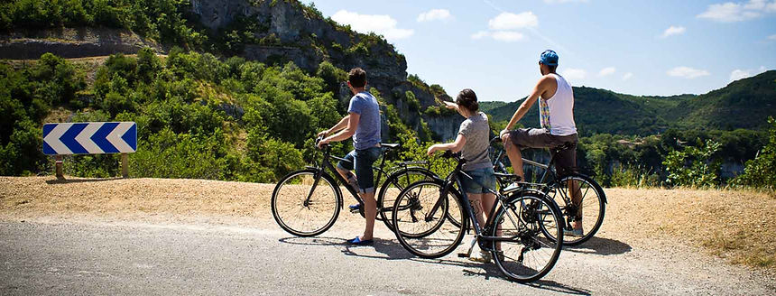 Training camps in France, Tarn gorges, Aveyron