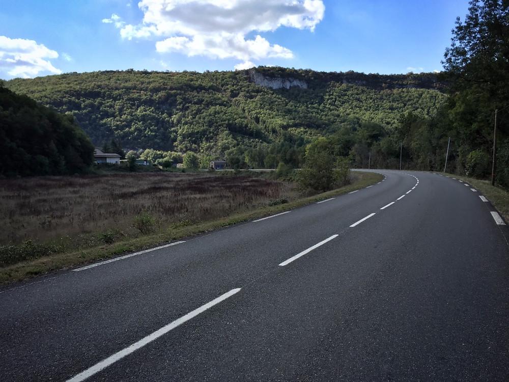 Aveyron River Road