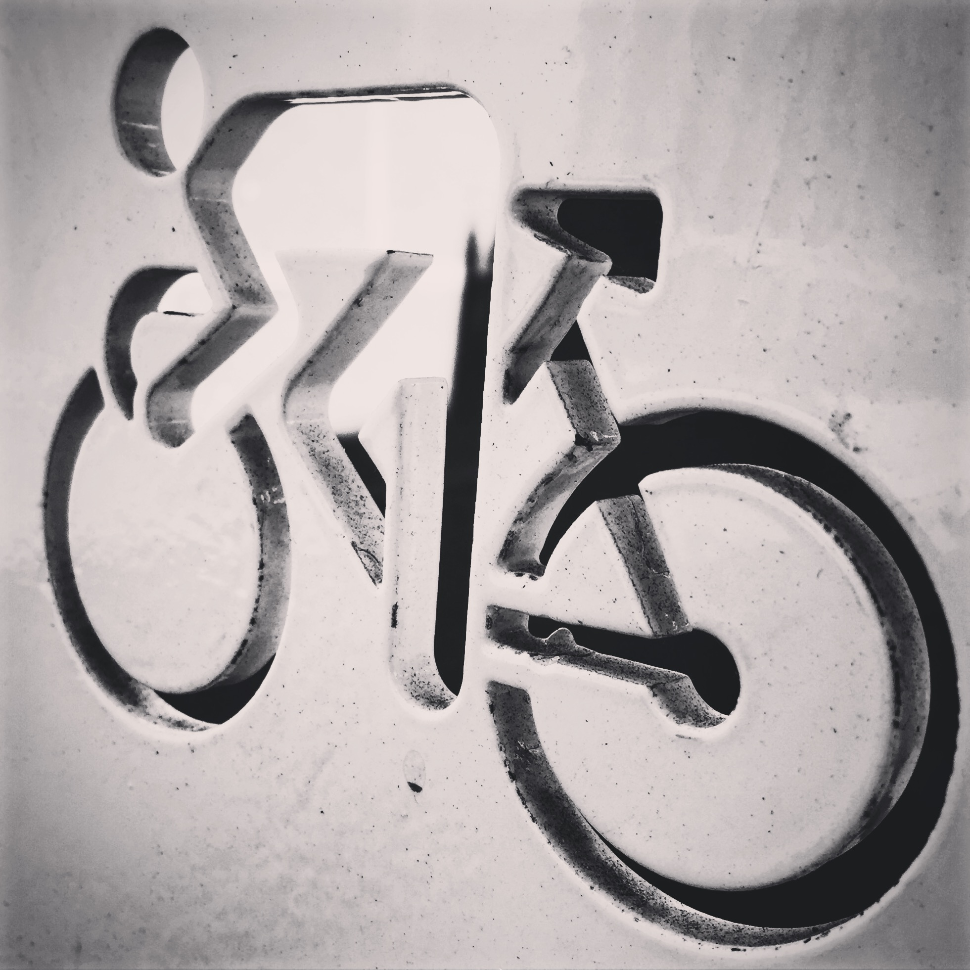 Cycling graffiti