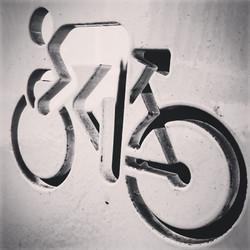 Cycling graffiti