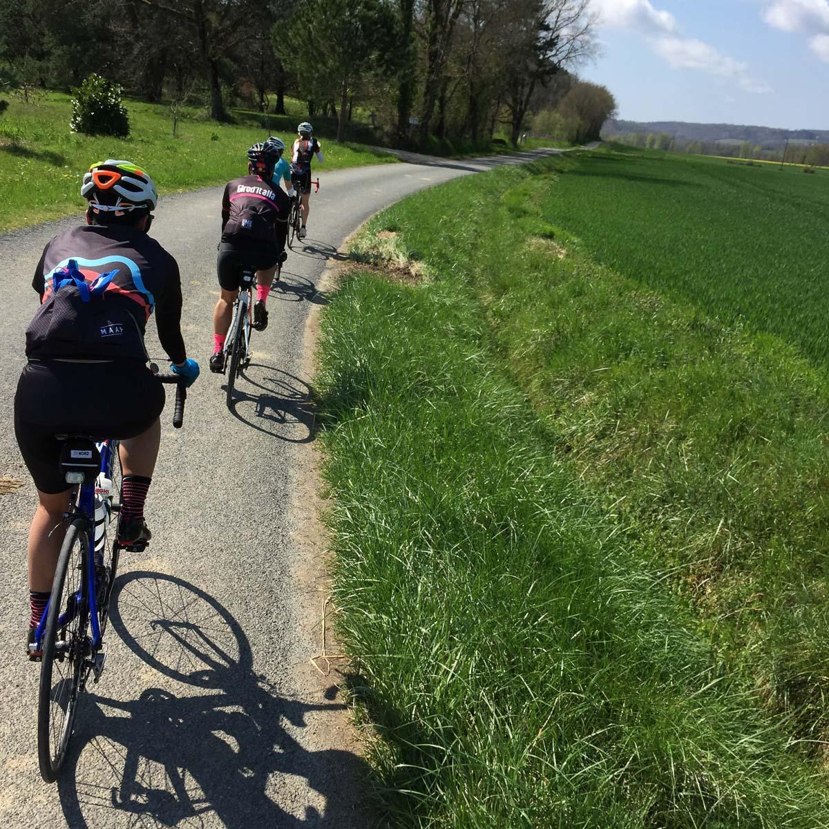 Groups exploring the regions roads