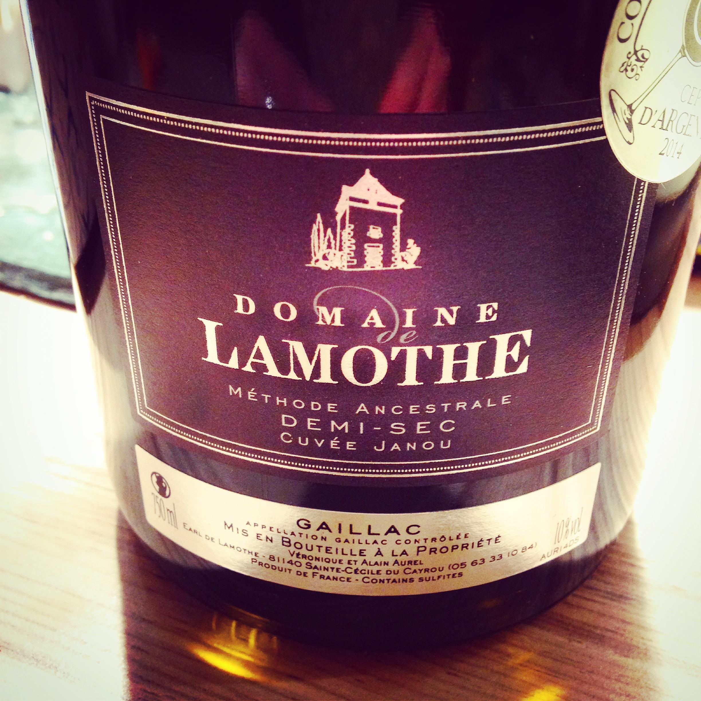 Domaine Lamothe wine