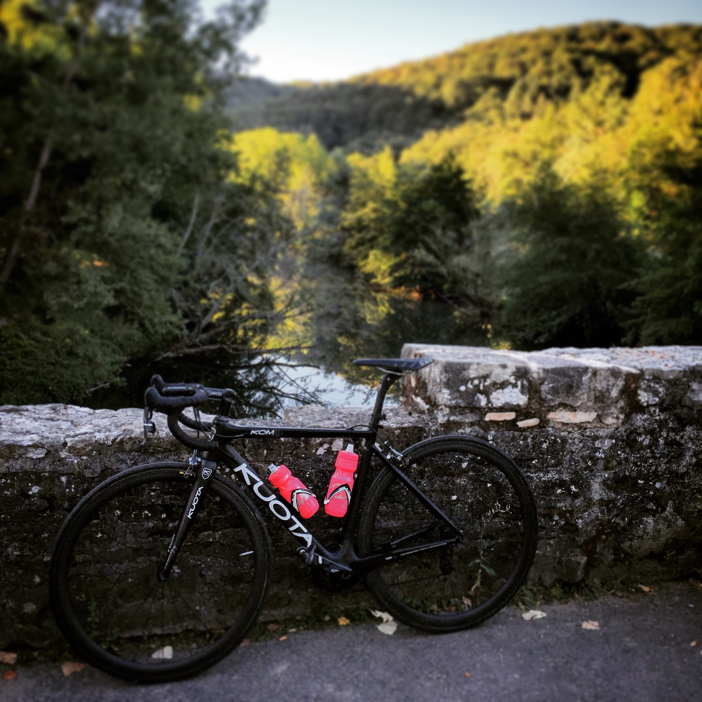 Road cycling in the Aveyron