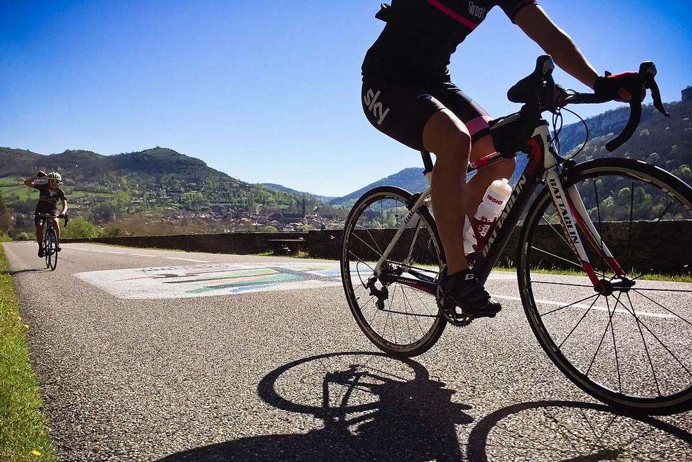 Perfect cycling roads
