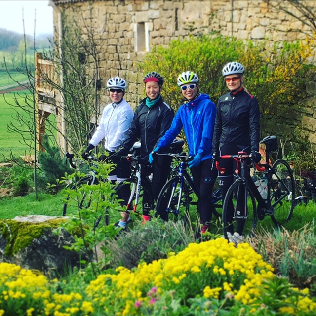 Early season Woman's Cycling Holiday