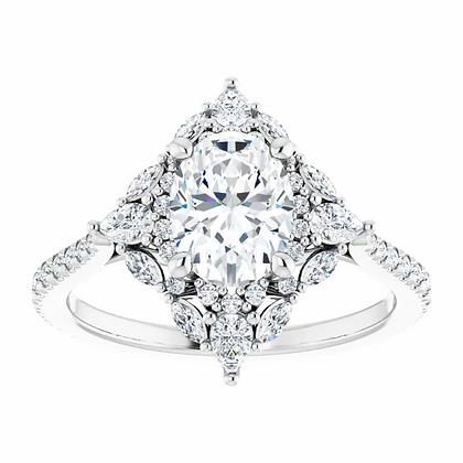Aria Diamond Halo